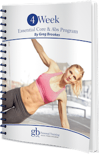 4 week essential core and abs program  gb personal training